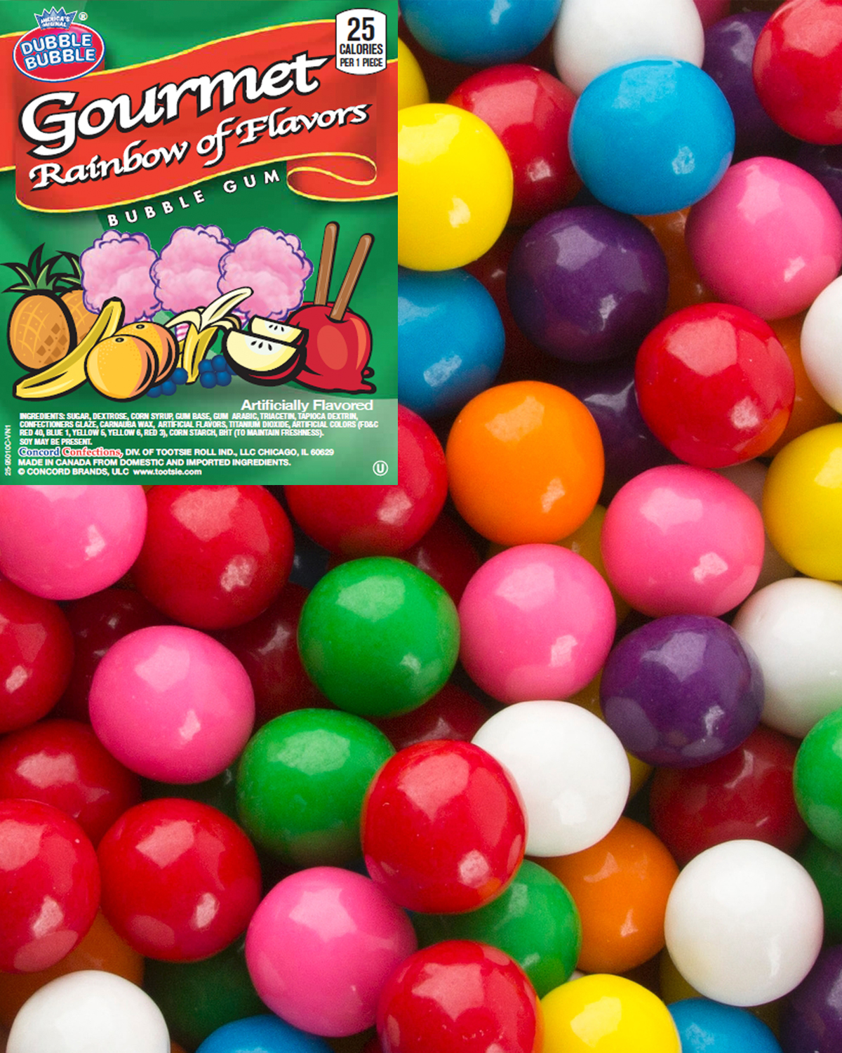 RAINBOW OF FLAVORS GUM
